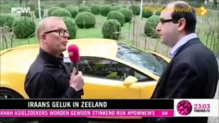 PowNews   Van Asielzoeker tot Miljonair - Salar Azimi - Sasan Azimi - Trendy Telecom