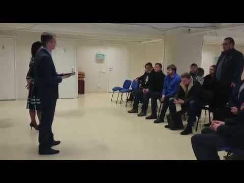 Групповое собеседование 15 человек на должность менеджера