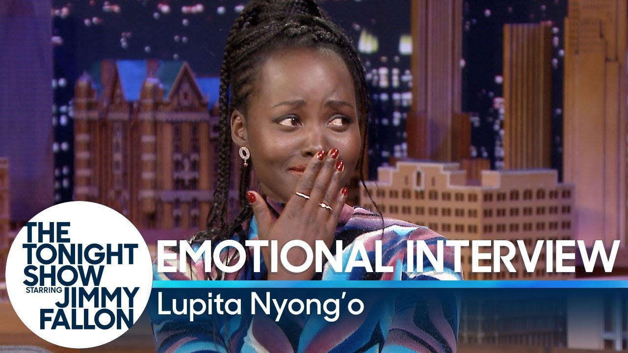 Emotional Interview with Lupita Nyong'o