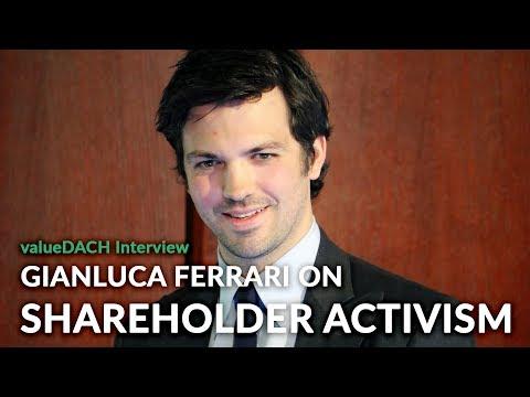 Why shareholder activism? An interview with Gianluca Ferrari (Shareholder Value Management)