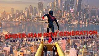 Spider-Man New Generation : Rencontre Avec Rodney Rothman, Peter Ramsey Et Bob Persichetti