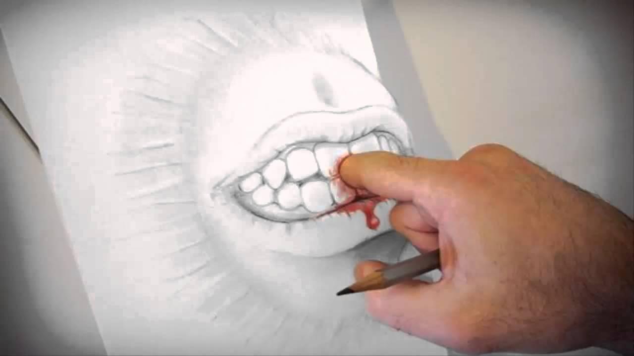 Imagenes en 3d en papel youtube for Dessin en 3d