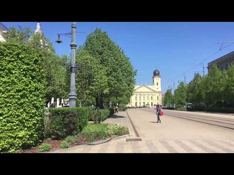 Hungary, Debrecen 2018, Tourism, Travel. Best of european tourism.