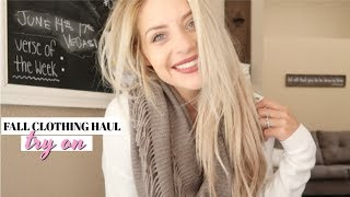 FALL CLOTHING TRY ON HAUL! | Nordstrom Rack, Poshmark | Lauren Self