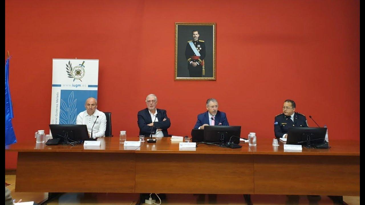 Jornadas Iberoamericanas. Mesa redonda sobre crimen organizado transnacional. IUGM-UNED