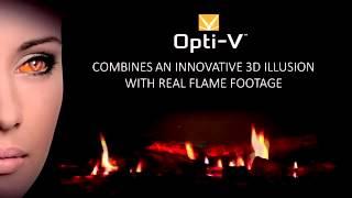 Dimplex Opti V Fireplace