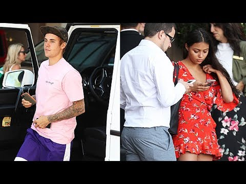Justin Bieber SPOTTED with Mystery Hottie Fiona Barron