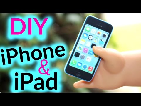 DIY American Girl iPhone and iPad