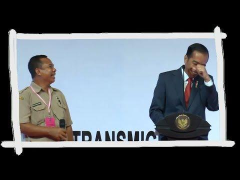Jokowi Dibuat Ngakak Karena Bahasa Jawa Orang Sumba Ini