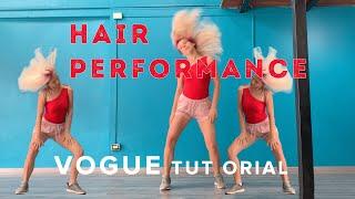 VOGUE TUTORIAL #4 | Hair performance | Tatiana Hurricane