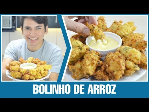 RECEITA DE BOLINHO DE ARROZ | RECEITA