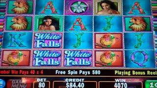 White Orchid Slot Machine Bonus + Retriggers - 30 Free Games With 1024 Winning Ways - Nice Win