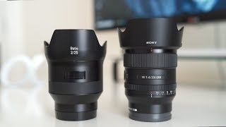 Sony 24mm f/1.4 GM VS Zeiss Batis 25mm f/2 - Is Zeiss Still Worth Buying? - Sony a7III a7RIII a6500