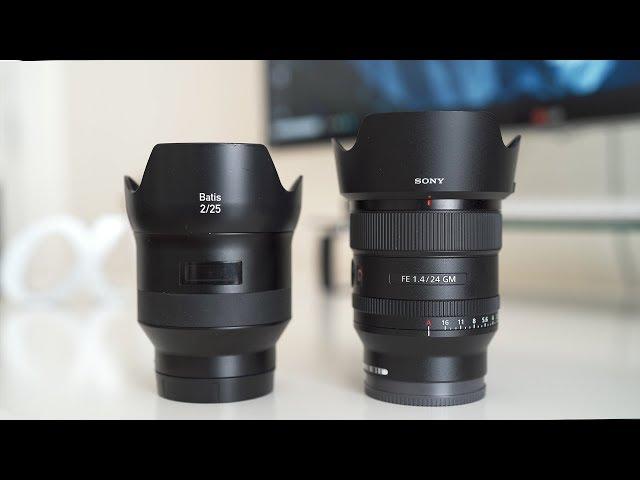 Sony 24mm f/1.4 GM VS Zeiss Batis 25mm f/2 - Is Zeiss Still Worth Buying? - Sony a7III a7RIII a6500