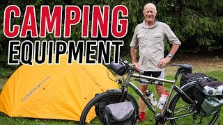 Kevin's Camping Gear - Tent, Cąmp Chair, Pillow, Sleeping Bag & Sleeping Pad