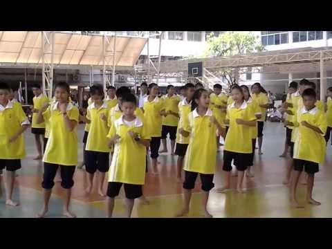 แข่งขันศิลปะมวยไทย 1/5  ต.อ.พ.ภ. 57