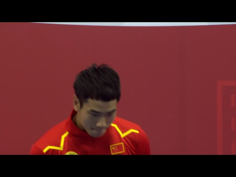 14th World Wushu Championships - Day 3 - Taolu - Men's Jians
