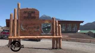 VIAJEROS EN LA TELE EN EPUYÉN - CHUBUT - PATAGONIA ARGENTINA