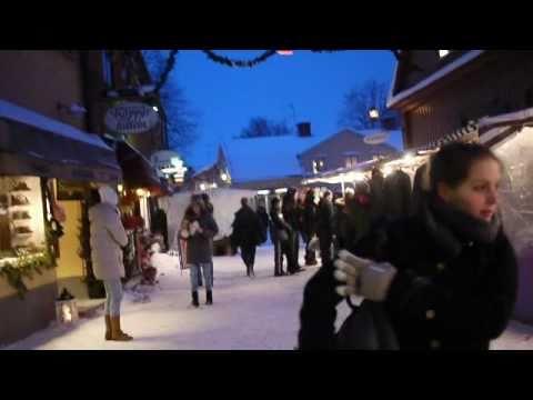 Christmas Market in Sigtuna, Sweden