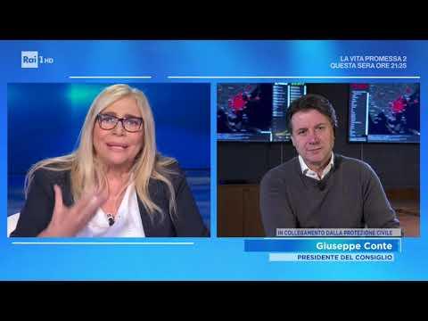 Emergenza Coronavirus: parla il Presidente del Consiglio - Domenica in 23/02/2020