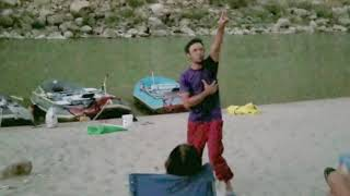 Clip of Parallel Reality Comedy Performed on a Raft trip   Aaron Harrington Stand Up Comedy