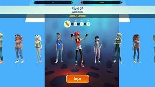 Jogo Oficial Miraculous Ladybug e Gato Noir (Nível 54) em HD com Missão VIP