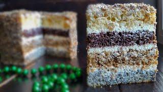 СМЕТАННЫЙ торт ДАМСКИЙ КАПРИЗ💟 пошаговый рецепт💟Sour cream cake recipe