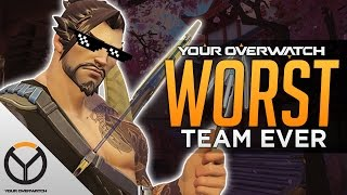 Overwatch: Worst Team Comp Ever