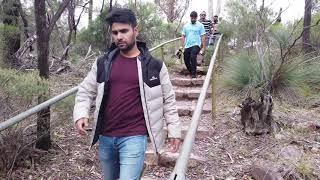 Australia Khuddam in trip to area of Natural Beauty