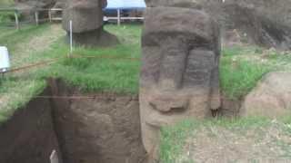 EXCAVACIÓN Moai Rano Raraku thumbnail
