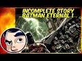 Batman Eternal : The Beginning - Incomplete Story | Comicstorian