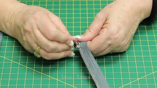 How To: Replace a Zipper Slider