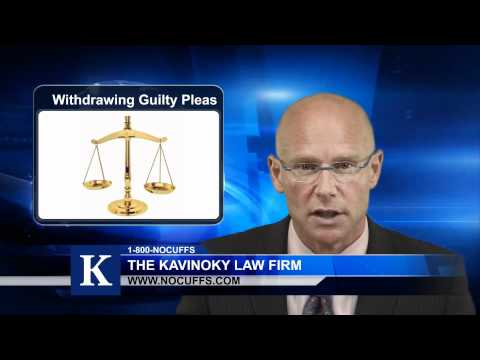Withdrawing Or Modifying A Plea Attorney In California