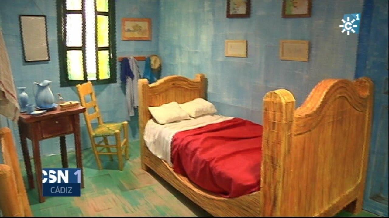 El dormitorio en Arlés en 3D, recreado por los alumnos de la escuela ...