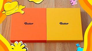 BTS 'Butter' Album Unboxing