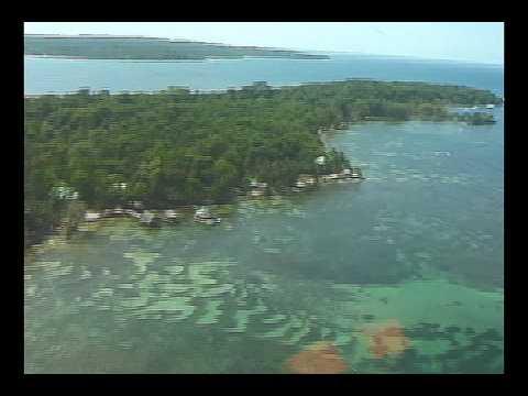 FLIGHT OVER Bocas del Toro & Carenero - May 2009