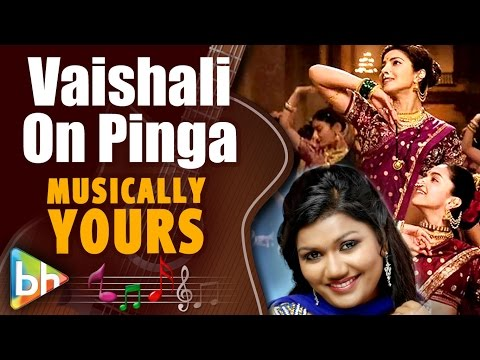 Pinga Is A Breathless Song Says Bajirao Mastani Singer Vaishali Made
