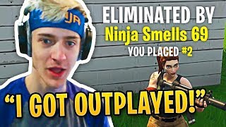 10 Times Ninja Got Outplayed in Fortnite