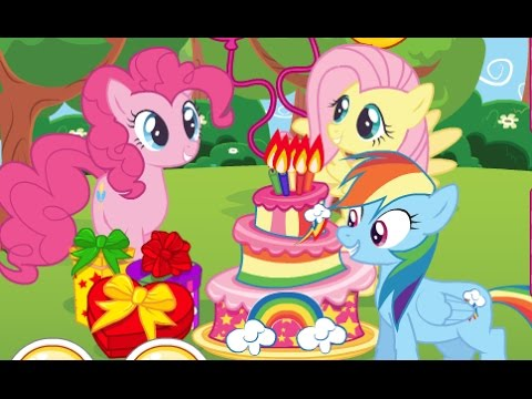 my little pony surprise party my little pony birthday games for