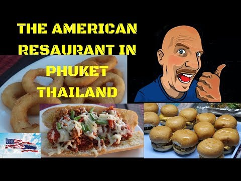 THE AMERICAN RESTAURANT IN PHUKET THAILAND V406