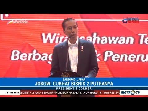 President's Corner - Jokowi Sedih Putranya Tak Mau Meneruskan Bisnisnya Mp3
