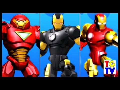 Marvel Super Hero Mashers Iron Man, Hulk Buster | Mix+Smash