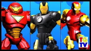 Marvel Super Hero Mashers Iron Man, Hulk Buster | Mix+Smash