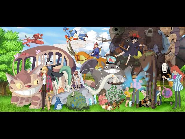 지브리 스튜디오 OST 40곡 모음 3시간 연속재생 株式会社スタジオジブリ3Hours Studio Ghibli Animation OST No middle Ads #1