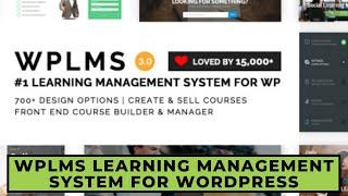 WPLMS Learning Management System for WordPress, Education Theme | Step By Step Guide