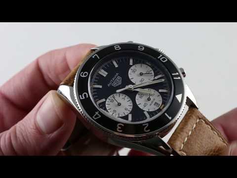 TAG Heuer Autavia Calibre Heuer 02 (CBE2110FC8226) Luxury Watch Review