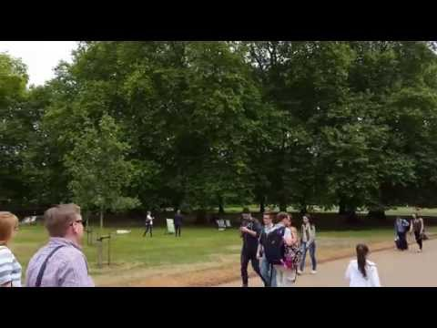 [POV 4K TOUR] Green Park, London, UK 2015.