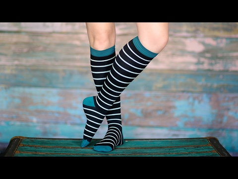 Compression socks that don't look like it.