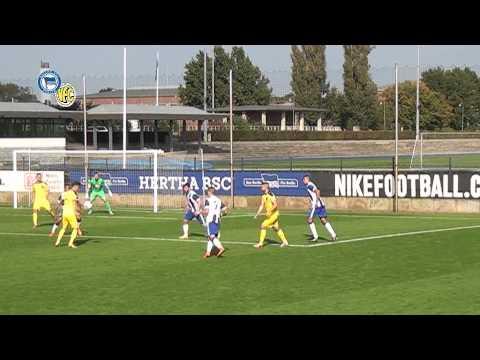 9. Spieltag: Hertha BSC II - VFC Plauen  0 : 1