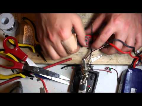 Hobbyking F-40A ESC Modification Build